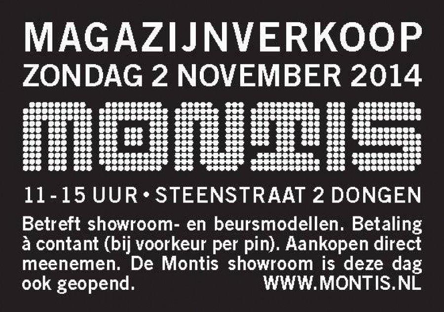 Montis magazijnverkoop 2016