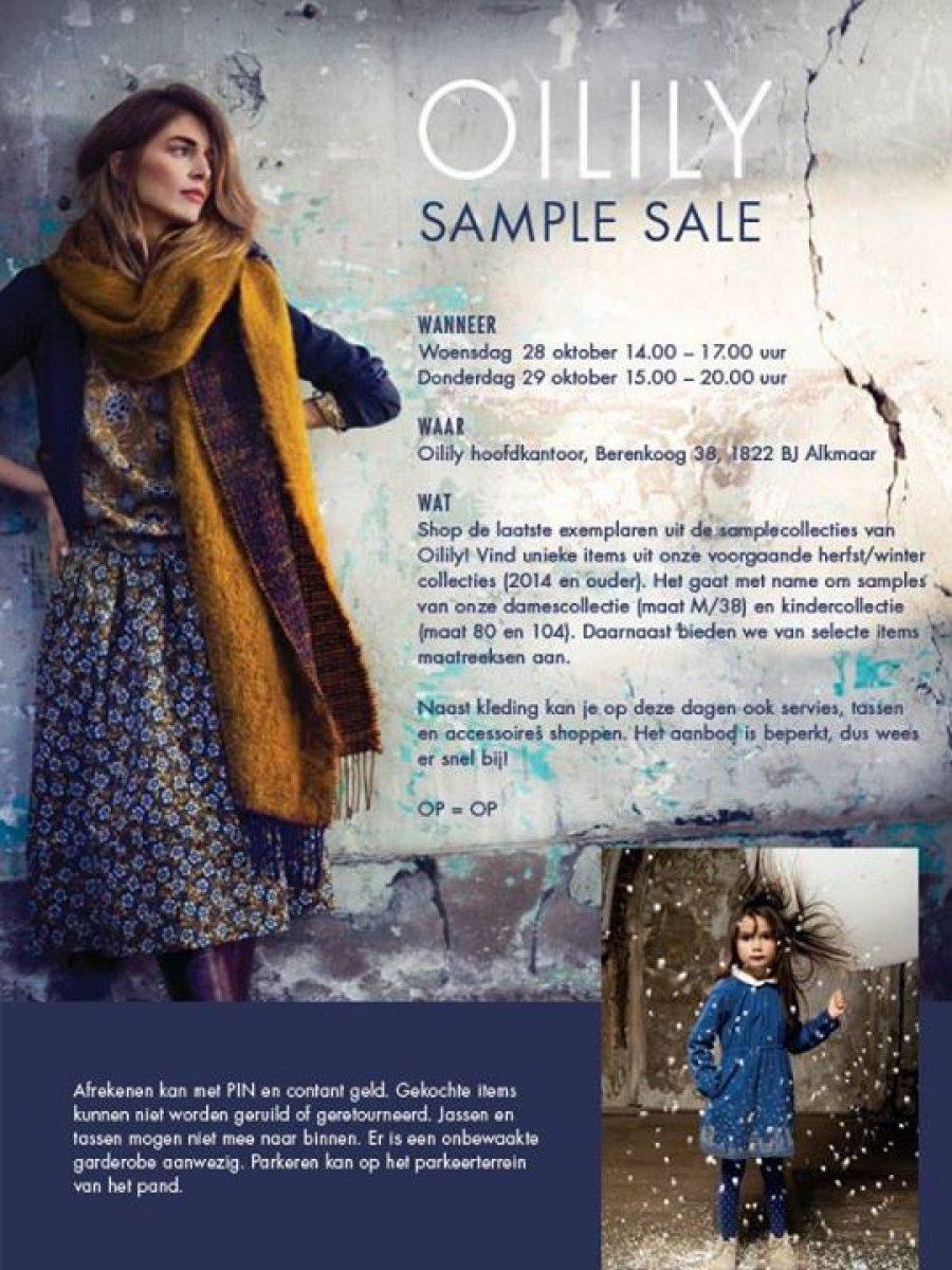 Kinderkleding Alkmaar.Oilily Sample Sale Sample Sale In Alkmaar