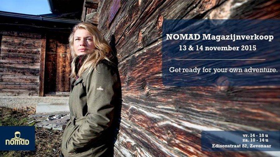 hoe te kopen verkoop retailer beste schoenen NOMAD Magazijnverkoop 13 & 14 november 2015 -- Sample Sale