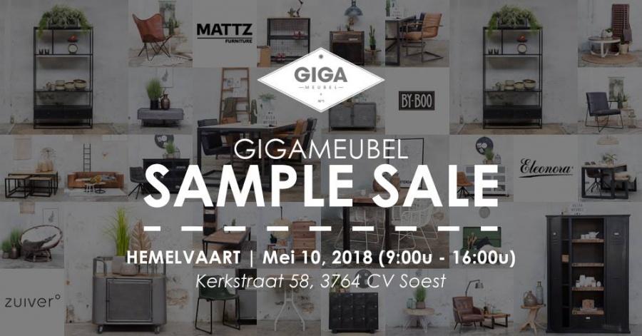 Verrassend Save the date! - Giga Meubel Sample Sale -- Sample Sale QT-21