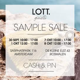 Sample Sales, Magazijnverkopen en stockverkopen in Nederland